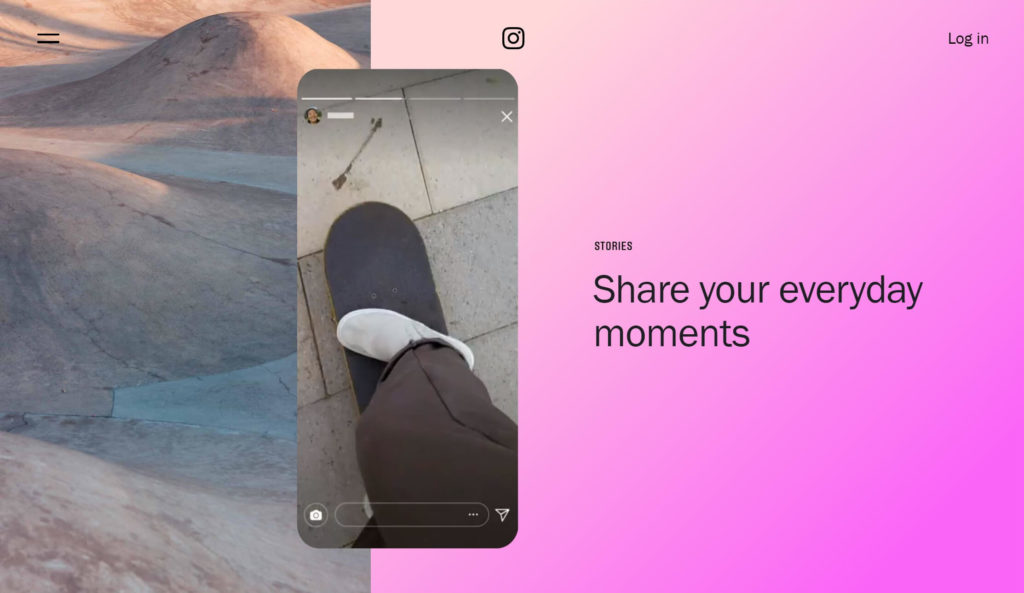 Instagram Stories are an example of ephemeral content.